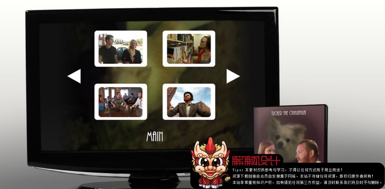 Premiere与Encore制作DVD功能菜单教程_百度网盘
