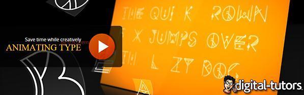 AE文字动画变化技巧视频教程_百度网盘
